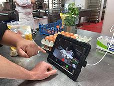 Enregistrement de la recette des farcis niçois dans le cadre du projet transfrontalier