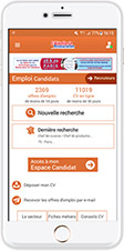 Application Espace Candidat