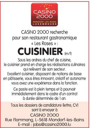 Chef de partie cuisine de salaire greve geant casino la valentine - Salaire chef de cuisine suisse ...
