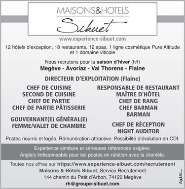 Directeur de restaurant les offres d 39 emploi - Directeur de restaurant ...