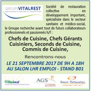 Commis de cuisine les offres d 39 emploi for Offre d emploi cuisine collective