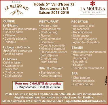 Maitre D Hotel En Auvergne Rhone Alpes Les Offres D Emploi