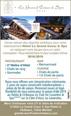 Emploi Hotellerie Restauration Consulter Les Offres D Emploi