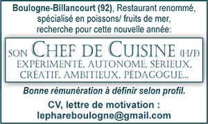 Chef De Cuisine En Ile De France Les Offres D Emploi