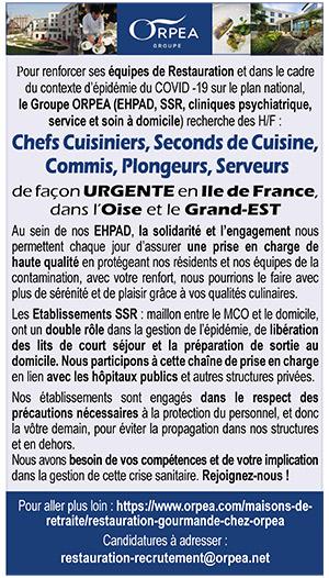 Commis De Cuisine En Ile De France Les Offres D Emploi