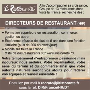 Offres d 39 emploi directeur de restaurant - Directeur de restaurant ...
