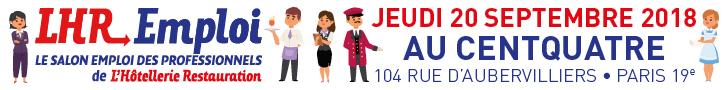 LHR Emploi - jeudi 20 mars 2018 au Centquatre - 104 rue d'Aubervilliers - Paris 19e