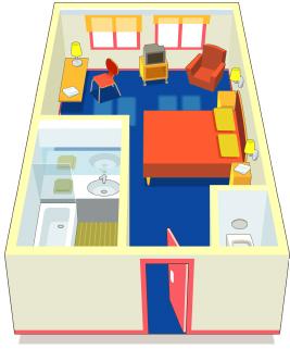 dis moi comment tu nettoies une chambre je te dirai qui tu es. Black Bedroom Furniture Sets. Home Design Ideas