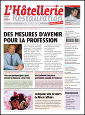 Le journal de L'Hôtellerie Restauration n° 3005 du 30 novembre 2006