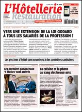 Le journal de L'Hôtellerie Restauration 3138 du 18 juin 2009
