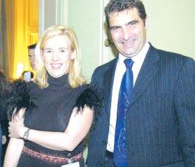 H l ne darroze au minist re - Helene carrere d encausse et son mari ...