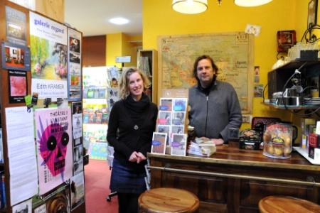 Brest (29) - La librairie-café des voyageurs, le rendez-vous des globe-trotters dans Librairies, libraires cafevoyages