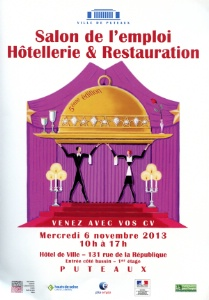 5e dition du salon de l 39 emploi de l 39 h tellerie et de la for Salon hotellerie restauration