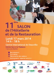 11e salon de l 39 h tellerie et de la restauration deauville for Salon hotellerie restauration