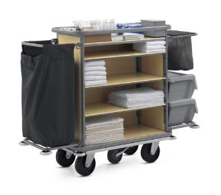 Wanzl des chariots pour le service en chambre minibar for Chambre de service