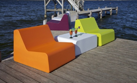 Xenon de GO IN, des meubles en mousse résistant aux intempéries