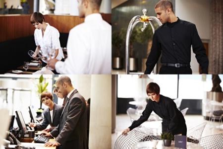 Bragard habille l 39 h tellerie haut de gamme for Salon emploi hotellerie restauration