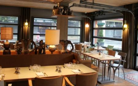 D corer sa salle for Materiel salle restaurant