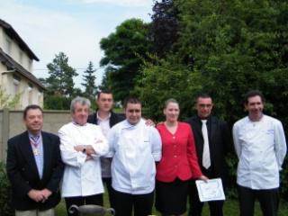 Alexandre lefay et v ronika boureau meilleurs apprentis d - Cours cuisine chartres ...