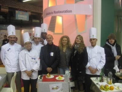 Le gu au salon de l 39 education paris for Salon restauration paris