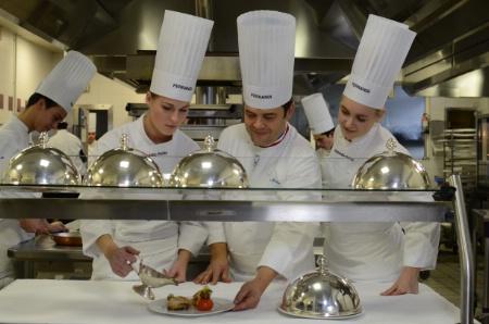 Design culinaire le pari d 39 ric trochon l 39 cole ferrandi - Ecole superieure de cuisine ...