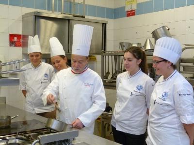 La cuisine en mode turbo au lyc e h telier d 39 occitanie for Ecole de cuisine toulouse