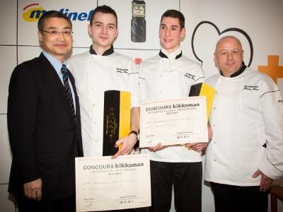 L 39 omble chevalier au menu du concours kikkoman - Brevet professionnel cuisine ...