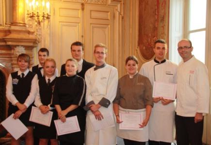 Les meilleurs apprentis is rois l 39 honneur for Cuisine xavier laurent