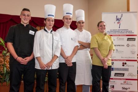 5 laur ats pour le titre un des meilleurs apprentis de - Ecole superieure de cuisine francaise ...