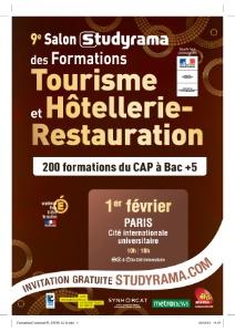 Plus de 200 formations seront pr sent es au salon for Salon hotellerie restauration paris