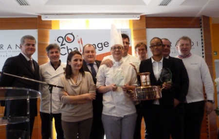 Le 20 me challenge fr res blanc remport par la maison du for Apprentissage cuisine paris