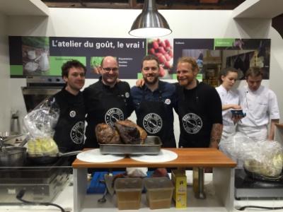 Les chefs de mange lille repr sentent le nord pas de calais au salon de l 39 agriculture - Salon de la gastronomie lille ...