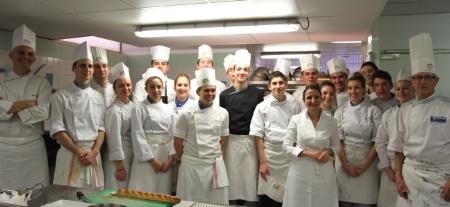 Anne Sophie Pic Dans Les Cuisines Du Lycée Hôtelier De Toulon