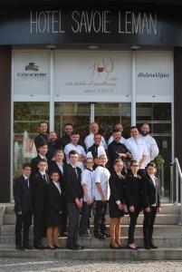 Thonon (74) - Le lycée hôtelier de Thonon reçoit un de ses partenaires