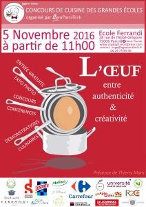concours de cuisine des grandes coles le 5 novembre l 39 cole ferrandi paris. Black Bedroom Furniture Sets. Home Design Ideas