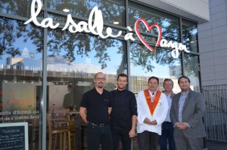 Les Apprentis D Auteuil Inaugurent Une Salle A Manger A Grenoble