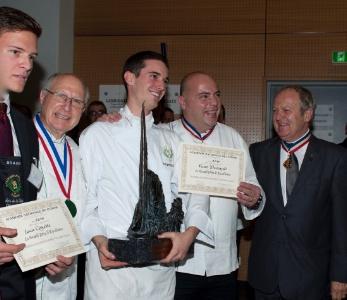 R sultats des trois concours de l 39 acad mie nationale de for Academie nationale de cuisine
