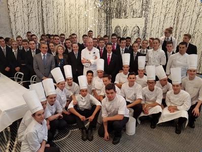 L 39 cole ferrandi paris partenaire privil gi du salon - Cours de cuisine ferrandi ...