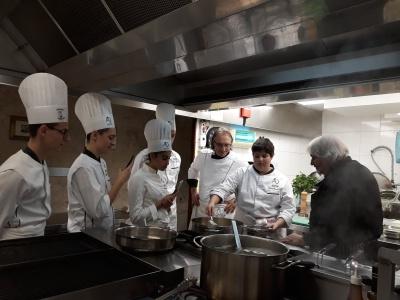 Cours de cuisine italienne pour quatre l ves d 39 alexandre - Cours de cuisine italienne ...