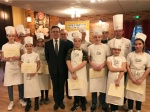 Ateliers d'initiation Paul Bocuse au centre des apprentis de la CMA Loiret