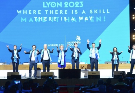 La France avec la candidature de Lyon remporte l