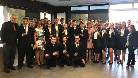 Lycée hôtelier de la Rochelle : 1ère rencontre avec le parrain de la promotion 2 BTS MHR 2020 - L'Hôtellerie Restauration