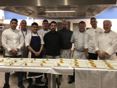 """Dîner de gala du Sidaction """"Les Chefs solidaires"""" au CEFAA de Villepinte - L'Hôtellerie Restauration"""