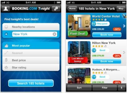 Offre de derni re minute lancement de l 39 application for Hotel reservation derniere minute