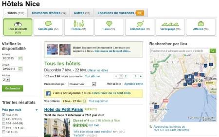 Tripadvisor lance des nouvelles fonctionnalit s de for Site reservation hotel en ligne