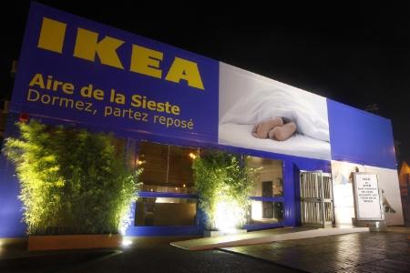 ikea mobilis contre la somnolence au volant. Black Bedroom Furniture Sets. Home Design Ideas