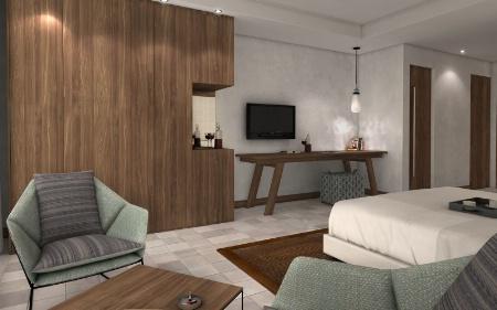 la nouvelle face du kube hotel. Black Bedroom Furniture Sets. Home Design Ideas