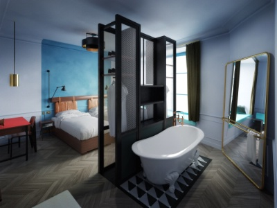 ouverture prochaine de the hoxton paris. Black Bedroom Furniture Sets. Home Design Ideas