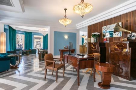 Atelier d co the jay hotel voyage dans les ann es folles for Deco sejour atelier
