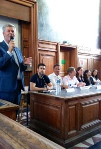 Universitaires, startupeurs et hôteliers en débat lors du colloque organisé par Food Hotel Tech et l
